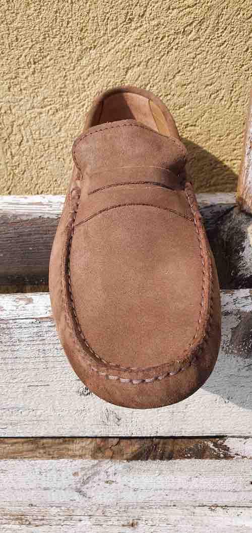 Mocassins en cuir homme Nous Seuls Chaussures - marron clair Fréjus