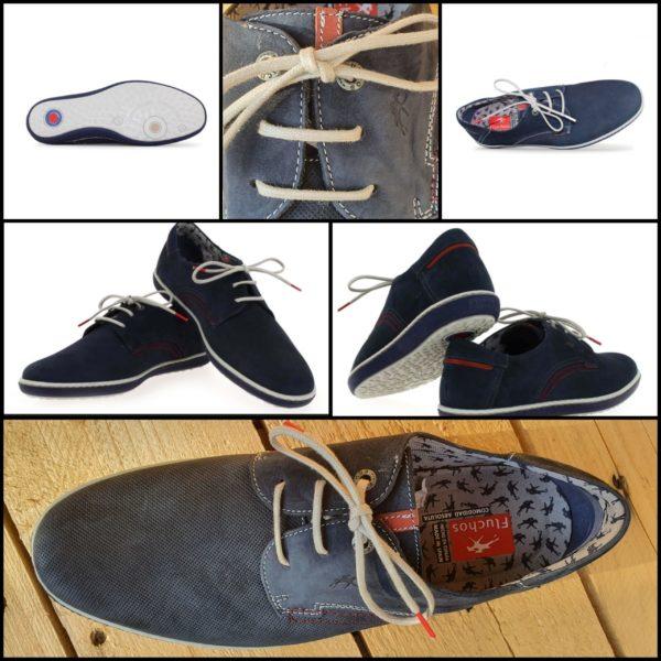 Chaussures à lacets marine PEGASO Fluchos